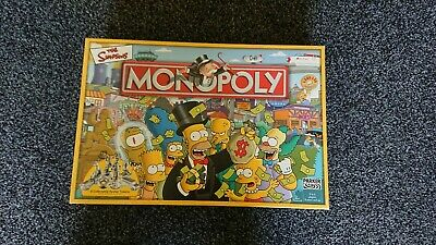 £16.99 • Buy The Simpsons MONOPOLY Parker Games