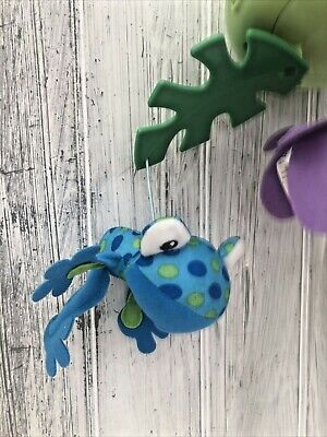 £2.50 • Buy Replacement Fisher Price Rainforest Peek-a-Boo Leaves Cot Mobile Frog Spares