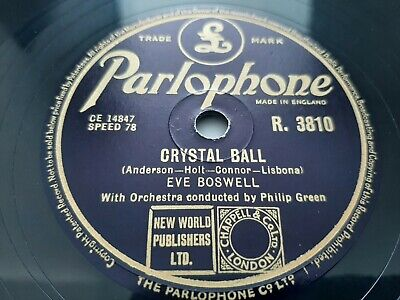 £8 • Buy 78rpm: Eve Boswell – Romany Violin / Crystal Ball - 1954 VG+