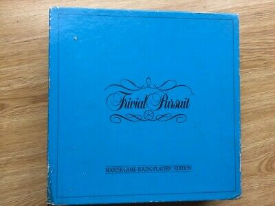 £4.95 • Buy Trivial Pursuit 1984 Young Players Edition Vintage Board Game Parker Games