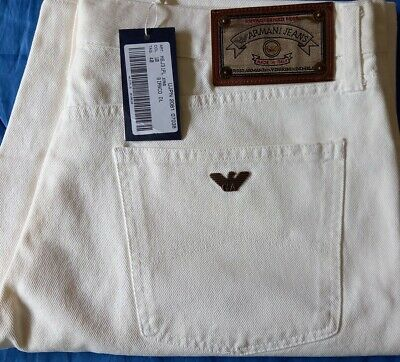 £29.99 • Buy Armani Jeans  Shorts In White Waist 38 Brand New Tags On