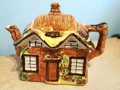 £5.99 • Buy Price Bros.  Ye Olde Cottage  Hand Painted Teapot Reg.No.845067. Excellent Cond.