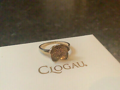 £165 • Buy Clogau 9ct Yellow And Rose Gold Buttercup Ring Size L Discontinued