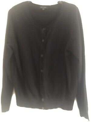 £1.20 • Buy New Look Womens Size 16 Black Button Up Cardigan (Regular)