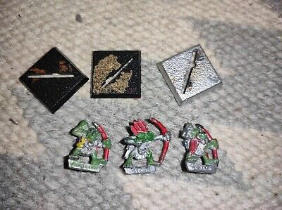 £6.11 • Buy Warhammer Fantasy Orcs And Goblins Forest Goblin Archers X 3 - OOP Metal