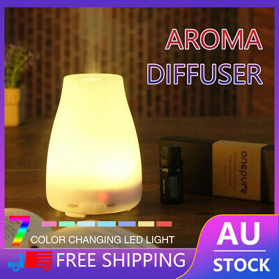 AU10.50 • Buy Essential Oil Humidifier Ultrasonic Air Diffuser Aroma Aromatherapy Air Purifier