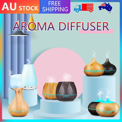 AU25.25 • Buy 7LED Aromatherapy Air Diffuser Aroma Essential Oil Ultrasonic Humidifier Mist AU