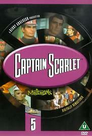 £1.99 • Buy CAPTAIN SCARLET AND THE MYSTERONS VOLUME 5 DVD 5th Fifth Vol Original UK Releas