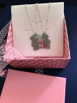 £11.99 • Buy HANDMADE - ME TO YOU TATTY TEDDY - NECKLACES X 2 - MOTHER And DAUGHTER GIFT