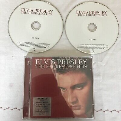 £2.99 • Buy Elvis Presley - 50 Greatest Hits Double CD All The Original Great Hits