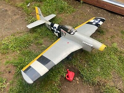 £38 • Buy RC Plane Kit Built P51d Mustang Used Airframe
