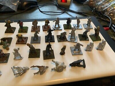 £19 • Buy Wargames Figures Job Lot Of 28mm Dark Age Warriors Mixed Painted And Unpainted
