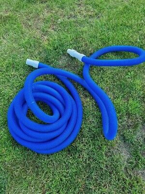 £19.99 • Buy Swimming Pool Vacuum Hose 10m With Swivel Cuff With Multi Fit Adaptor