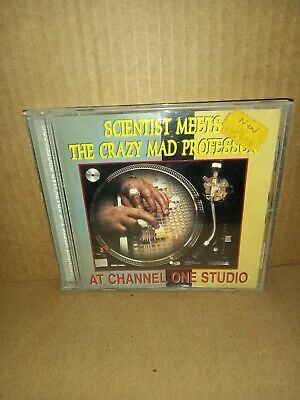 £7.25 • Buy Scientist Meets - The Mad Professor At Channel One Studio CD EX