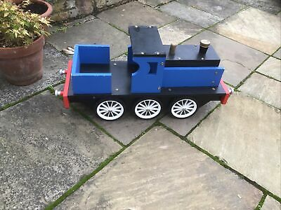 £20 • Buy LARGE VINTAGE WOODEN TOY TRAIN Push Along Toy