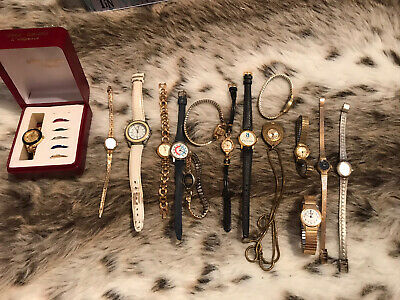 £4.99 • Buy Bundle Of Mens And Womans Vintage Spare Repair Watches Timex, Sekonda, Constant,