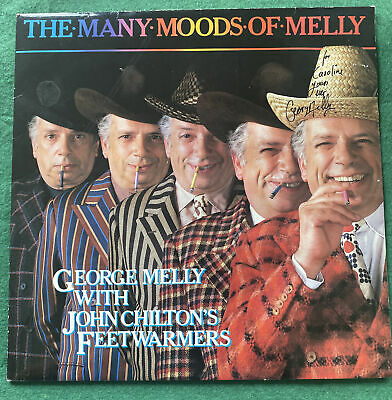 £3.99 • Buy George Melly The Many Moods Of Melly SIGNED AUTOGRAPHED LP - Precision N 6550