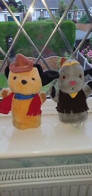 £9.99 • Buy Rare Sooty Cowboy & SWEEP Indian Titan Puppets