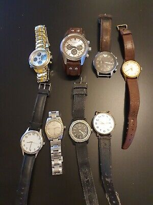 £30 • Buy Joblot Of Men's And Women's Watches For Spares Or Repairs/new Batteries