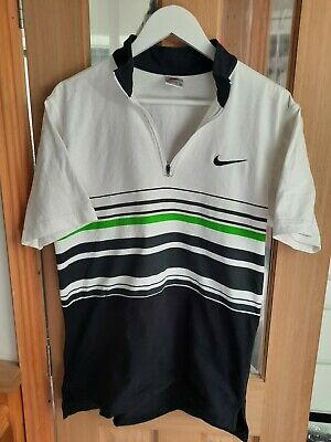 £9.99 • Buy Nike Agassi 'Virtual Andre' Tennis Shirt 1990s Youth XL  (Men's M Equivalent)