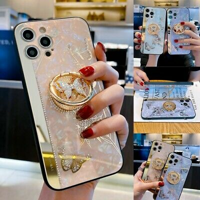 AU15.99 • Buy Cute Bling Shockproof Mirror Butterfly Case For IPhone 12 11 Pro XS Max XR 7 8