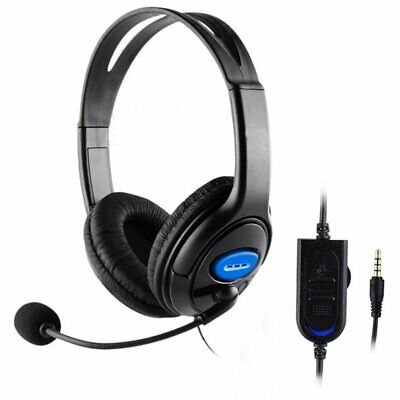 AU23.32 • Buy 3.5mm Wired Stereo Bass Surround Gaming Headset For PS4 New Xbox One PC With Mic