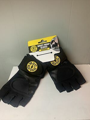 £17.99 • Buy Gold's Gym Size Medium Classic Wrist Wrap Gloves  New NWT Free Shipping
