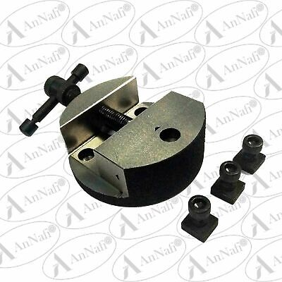 £30.15 • Buy 3  / 80MM Rotary Table Round Vice Suitable For 3' & 4  Rotary Table With T Nuts