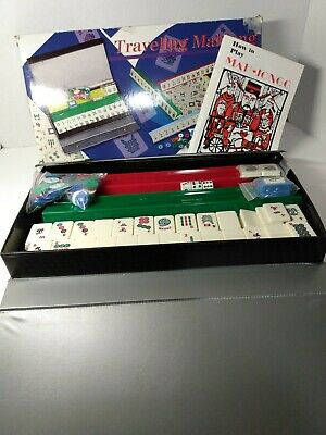 $17.60 • Buy Traveling Mahjong Set With Carrying Case
