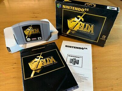 £12.40 • Buy Nintendo 64 N64 - The Legend Of Zelda Ocarina Of Time - Boxed With Instructions