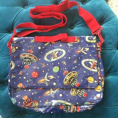 £6 • Buy Cath Kidston Up In Space Oilcloth School Bag / Backpack