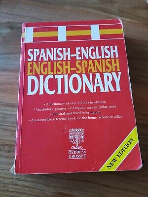 £3.99 • Buy English To Spanish Dictionary.paperback