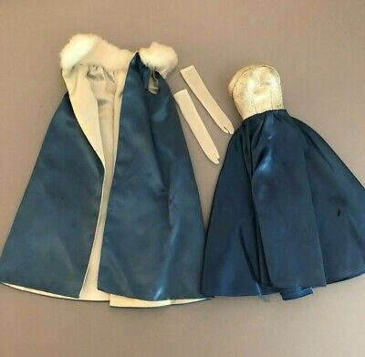 $ CDN49.93 • Buy #1617 Midnight  Blue 1965 Vintage Barbie Doll Outfit