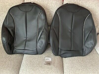 £31 • Buy BMW F30 F31 F32 F34 (3&4 Series) Genuine OEM Oyster Leather Front Seat Covers