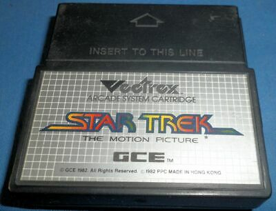 £8.81 • Buy VECTREX STAR TREK The Motion Picture Very Good Condition 1982