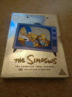 £0.99 • Buy The Simpsons - Series 1 - Complete (DVD, 2001, 3-Disc Set)