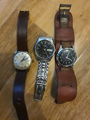 £30 • Buy Joblot Of Men's Watch.Rone.ingersoll. Rotary For Spares Or Repairs/new Batteries