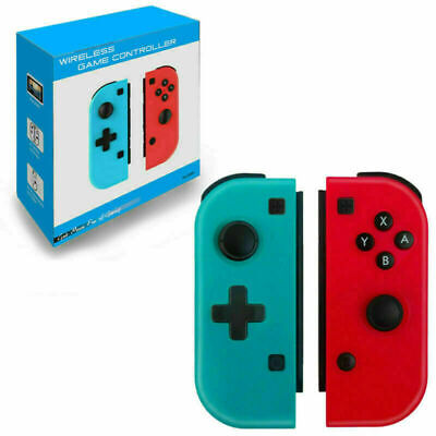 $26.98 • Buy Wireless Remote Controller Joy-Con (L/R) Blue&Red For Nintendo Switch