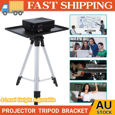 AU48.98 • Buy Compact Height Adjustable Projector Stand Tripod With Large Tray Indoor Outdoor