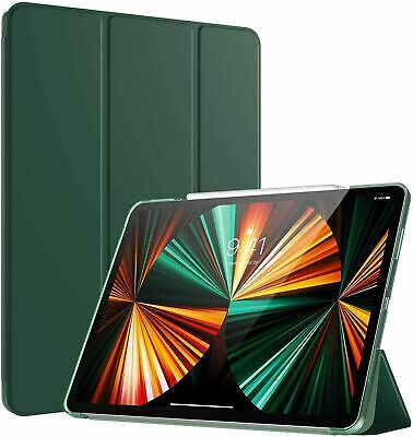 AU25.50 • Buy For IPad Pro 12.9/11 2021Case TPU Tri-fold Stand Smart Cover With Pen Holder