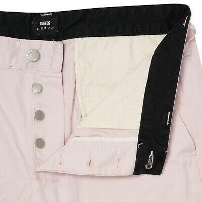 £9.50 • Buy Edwin Mens Pale Pink 55 Chinos W31 L33
