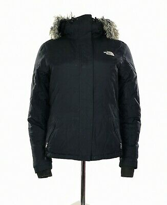 £54.99 • Buy Women's The North Face Hyvent Puffer Jacket Parka In Black  Size S/P UK 8/P