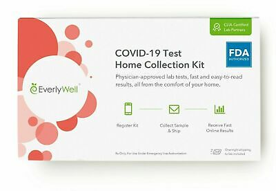 $39.97 • Buy EverlyWell 19 Test Home Collection Kit  Exp.10/2022 - Shipped USPS Priority Mail