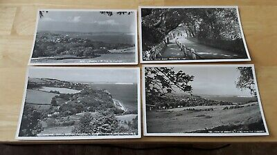 £2.99 • Buy 4 Nigh Ventnor RPPC's, Shanklin From Cowlease,  Luccombe Common, Chine Road,