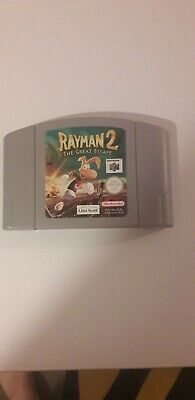 £11 • Buy Rayman 2 The Great Escape (Cartridge Only) (Nintendo 64) (N64)