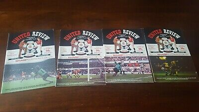 £1 • Buy Collection Manchester United Home Programmes Season 1987 - 1988