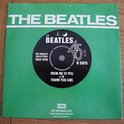 £3.49 • Buy The Beatles From Me To You / Thank You Girl 7  Pic Sleeve Parlophone  R 5015  EX