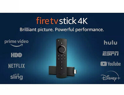 AU72.95 • Buy Fire TV Stick 4K Alexa Voice Remote Includes TV Controls HD Streaming Device 21