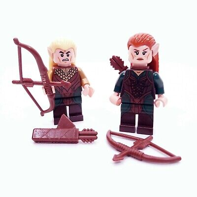 £14.42 • Buy Lego Lord Of The Rings Legolas And Tauriel Elves Minifigures Lot Of 2 LOTR