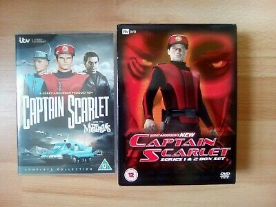 £12 • Buy Captain Scarlet The Complete Collection & New Captain Scarlet - Series 1-2 DVDs